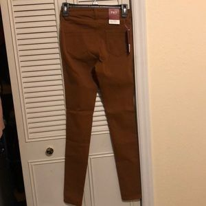Jeans - Caramel colored jeggings